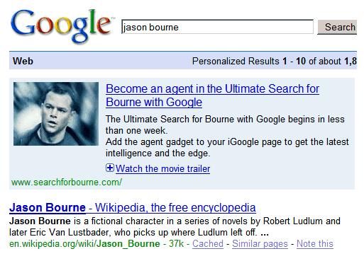 Bourne Ad