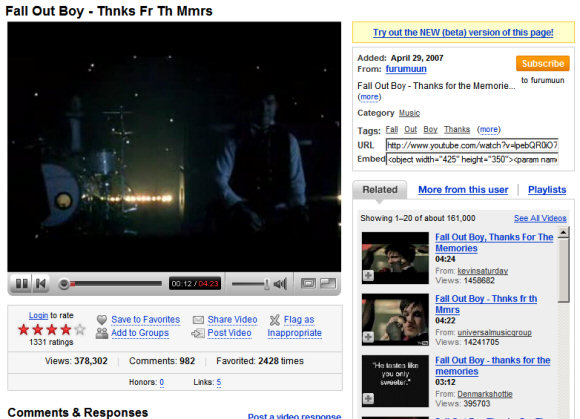 Google Operating System Two Ways To Watch The Same Youtube Video