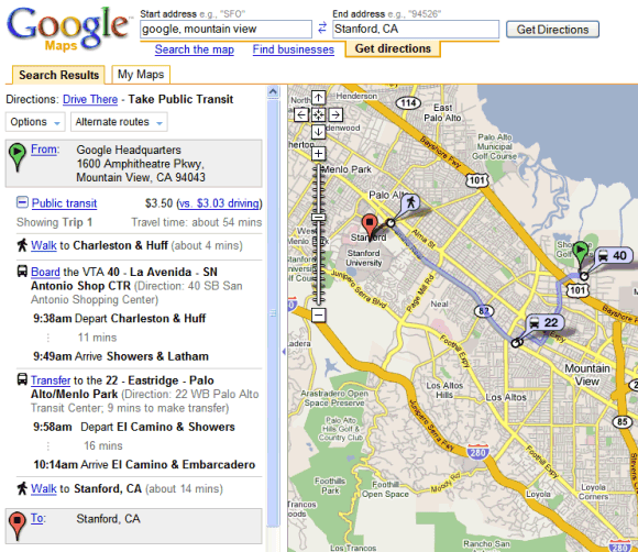 how to make a google map publlic