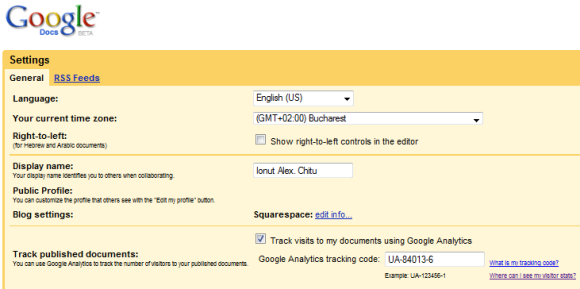 Google Form Analytics Tracking