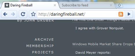 Chrome RSS Extension