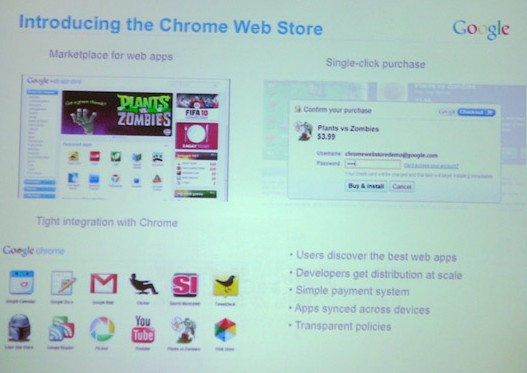 Chrome Web Store and Online Games