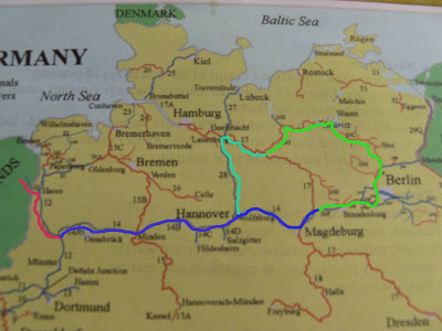 Map Of France Holland And Germany.Adventures On The Canals Of France Netherlands And Germany Germany