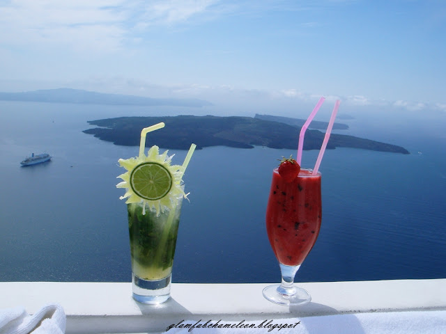 best cocktails in Santorini