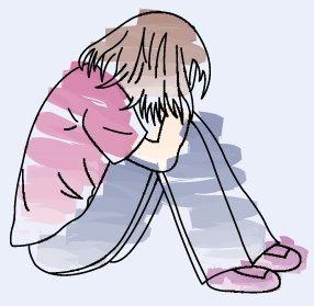 43 Trend Gambar Kartun Sedih Atau Depresi