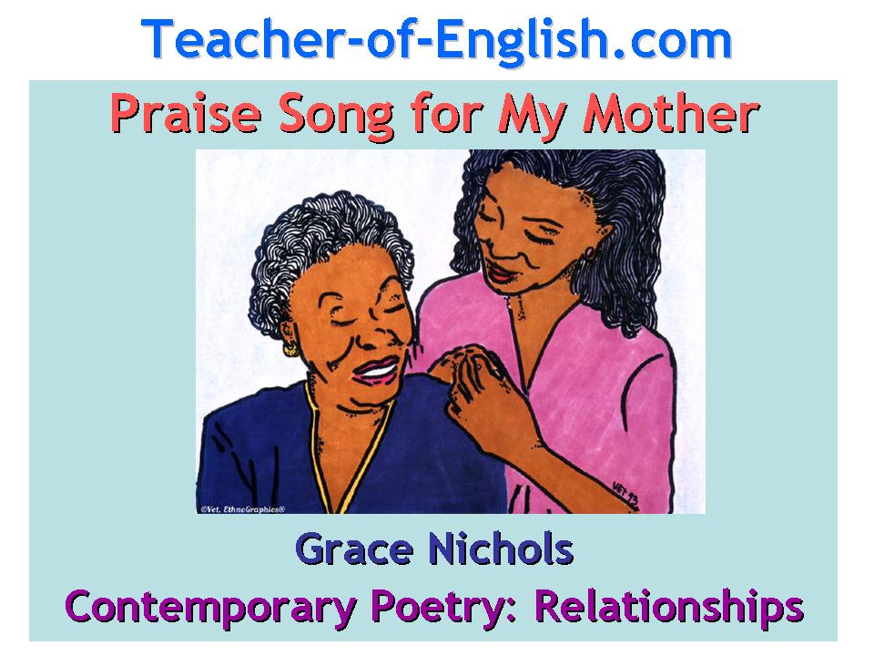 Praise song for my mother by grace nichols analysis essay