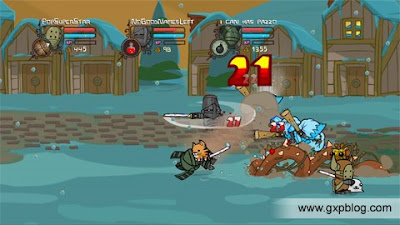 xbox 360 live arcade game castle crashers