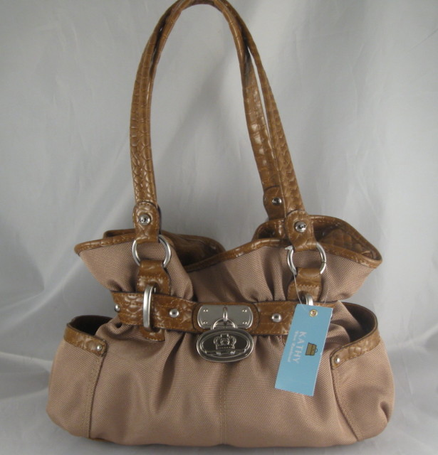 Kathy Van Zeeland Kvz Tote Bag Satchel Handbag Purse Sold