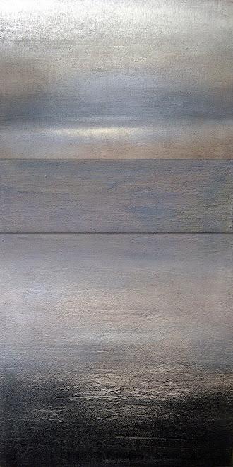 """Obra Reciente, de la serie """"Paisajes Abstractos"""""""