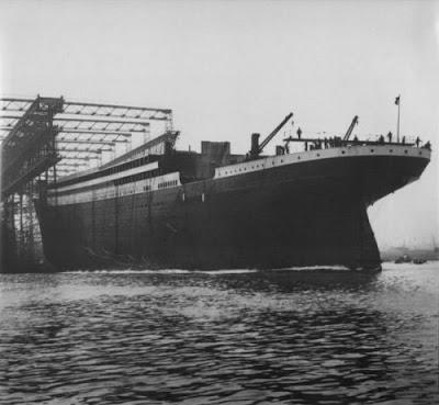 Foto-foto Asli Kapal Titanic Sebelum Tenggelam - Lingkar Merah Com