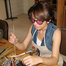CAM BONCUK YAPIMI- glass beadmaking