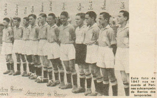 Perines 1947-Costa J.J., Ceballos, Oria,Tinín, Genarín, Jose Mari,Chiqui, Feijóo, Costa E.,Perlacia y Chiri