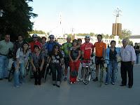 Foto de Família na chegada a Fátima