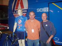 Na ExpoBike de Santarém com Manuel Zeferino