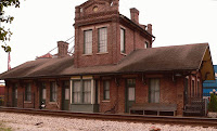 Train Depot, Stevenson, Alabama