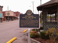 Depot Marker, Stevenson, Alabama