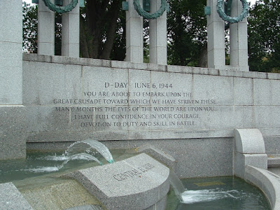 Copyright © 2009 by Anthony Buccino; National WWII Memorial, Washington, DC