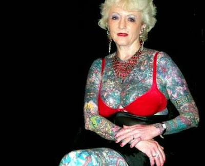 Tattoo Grandma