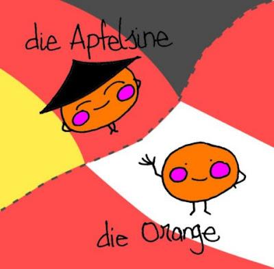 Dibujos de nombres, dibujos de objetos, dibujos de alimentos, palabras usadas en Austria