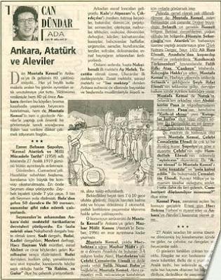 Atatürk Ve Aleviler Deringündem