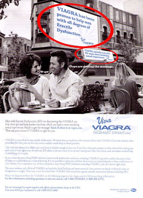 Pharma Marketing Blog: Viagra Print Ad Art Imitates Life ...