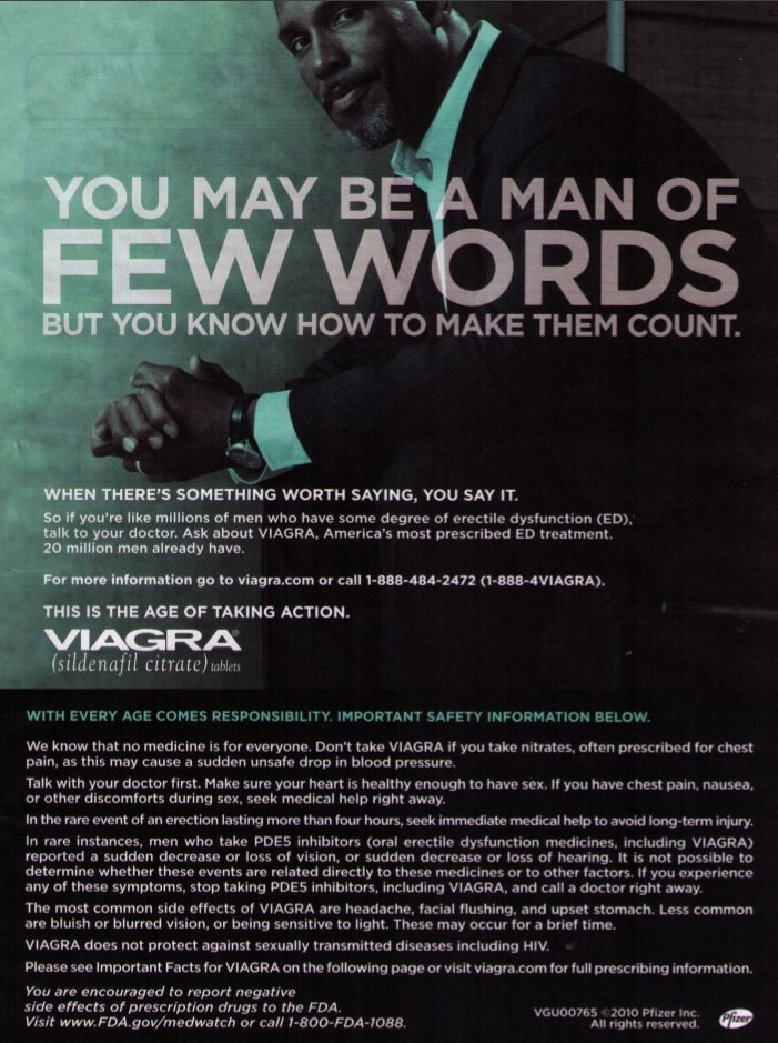 Pharma Marketing Blog: Be a Macho Man! Ask Your Doctor for ...
