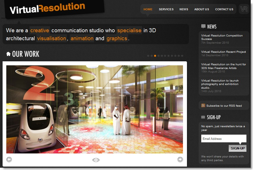 Virtual Resolution – Blending Max & BIM for Visualisation