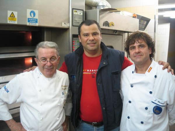 Con los maestros Piergiorgio Giorilli y Josep Pascual finalista de la Copa del Mundo 2008