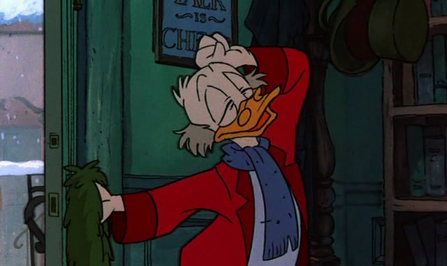 Flooby Nooby: Line of Action - Mickey's Christmas Carol
