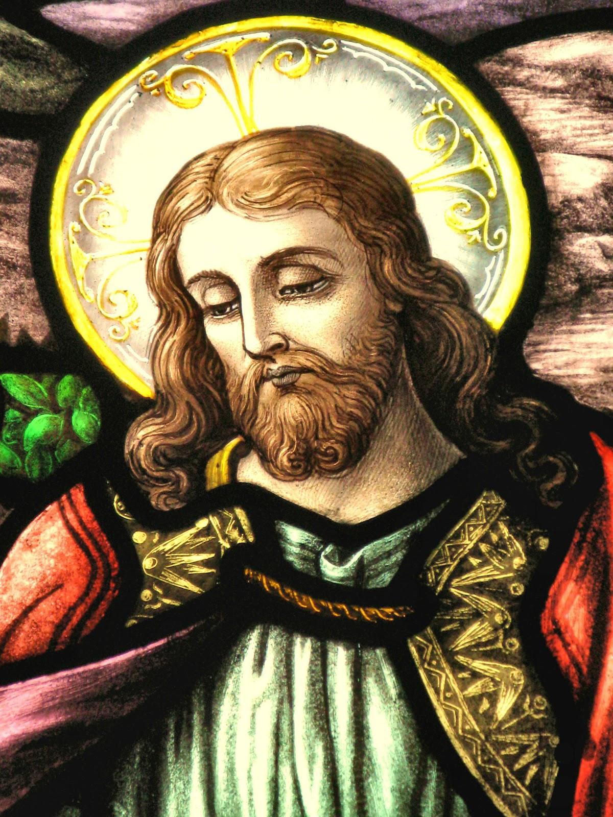 St Teresa Of Avila Church Inspirational Window Art