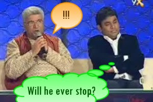 Javed Akhtar Mission Ustaad TV AR Rahman