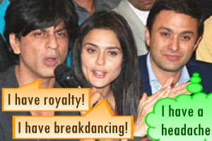 Indian Premier League Auction Shahrukh Preity Ness