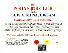 PODX 070 CLUB