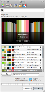 Palette di selezione del colore in Photoshop