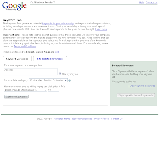 Google Adsense Adwords