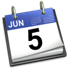 iCal Blue icon June 5th 2007