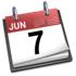 iCal June 7th Icon 2007
