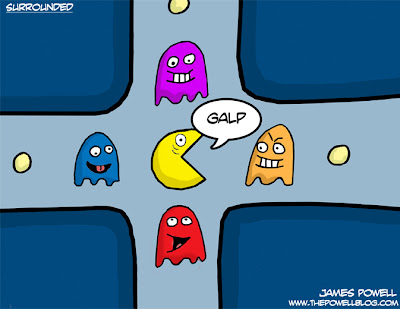 Surrounded PacMAn