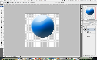 Creating an Orb - Photoshop