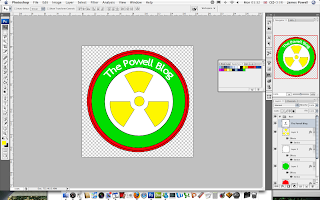 Creating a Website Badge - Photoshop