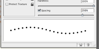 Creating a Dotted Line In Photoshop