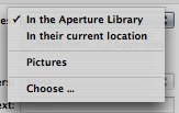 Aperture Tutorials - Importing