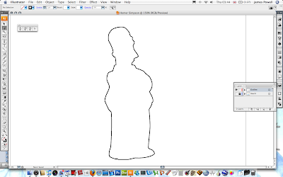 Drawing Homer Simpson In Illustrator