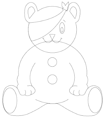 pudsey children in need Colouring