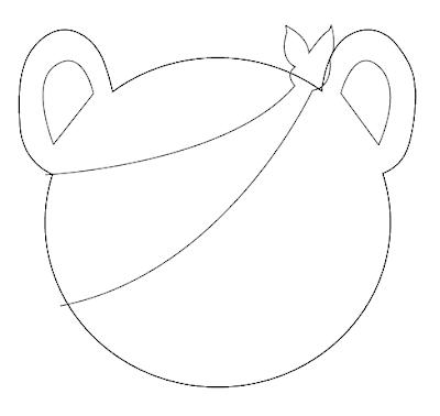 Pudsey Bear Template Sketch Coloring