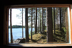 The Sauna window towards Sweden