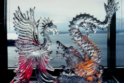 amazing ice sculpture wallpapers - photo #13