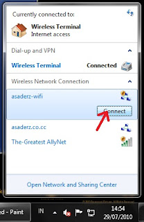 Sharing an Internet Connection from Modem to Wireless