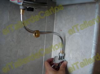 Eltallerdecarlos instalaci n de gas fijar tubos de cobre for Instalacion gas butano