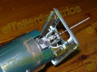 Eltallerdecarlos c mo mejorar herramientas antiguas - Sierra para taladro ...